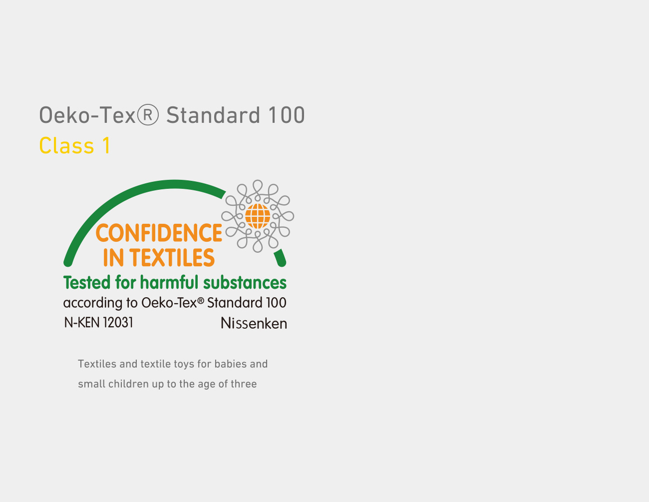 THE GLOBAL STANDARD FOR SAFETY: OEKO-TEX Standard 100