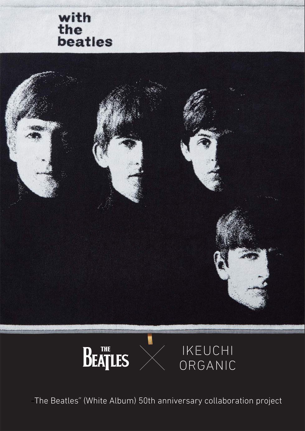 "THE BEATLES  X IKEUCHI ORGANIC  – ""The Beatles'' (White Album) 50th anniversary collaboration project –"