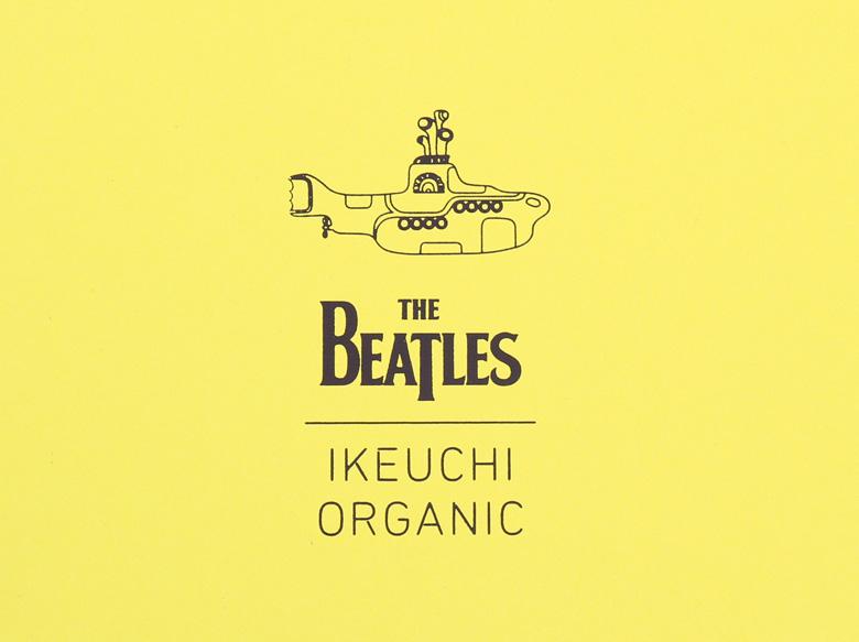 Beatles IKEUCHI ORGANICコラボタオル