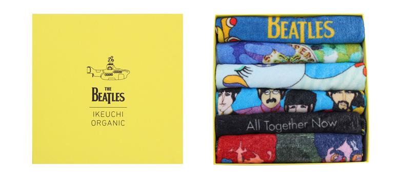 Beatlesタオルハンカチボックスギフトセット