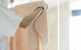 梅雨の時期におすすめのよく乾くタオル オーガニックエアー