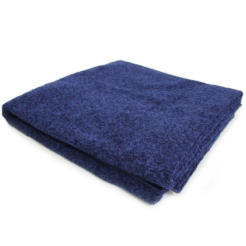 シルクのような光沢でしなやかなタオルケット