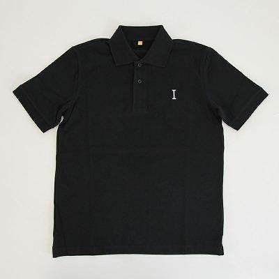 ブラックポロシャツ