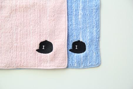 ストレイツ220タオルハンカチ 帽子刺繍
